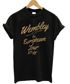 Wembley The European Tour 97-98 T-shirt
