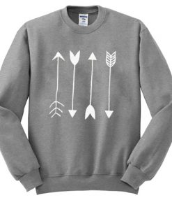 Arrows Graphic Sweatshirt