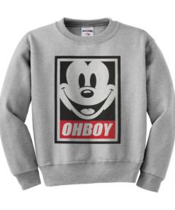 OHBOY Mickey Mouse Sweatshirt