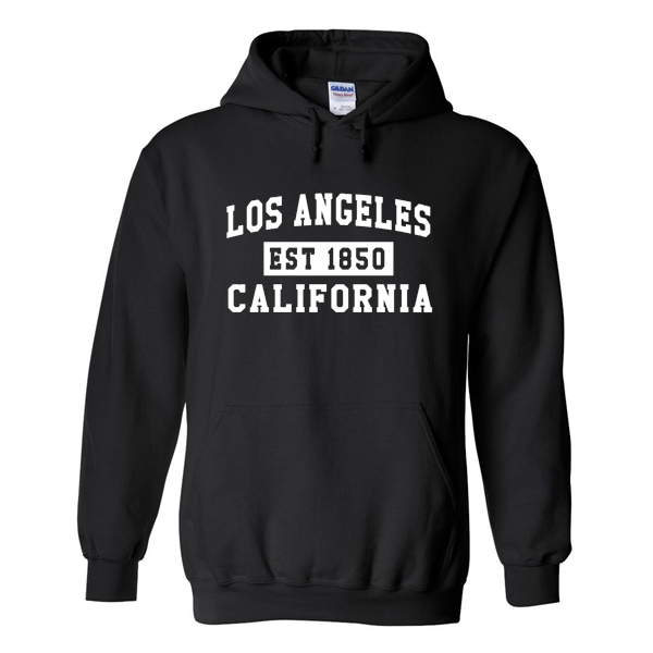 Los angeles california hoodie from for Los angeles california shirt