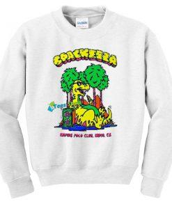 Coachella Dinosaur Sweatshirt