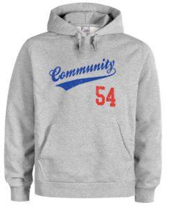 Community 54 Hoodie