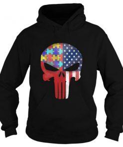 American Skull Hoodie