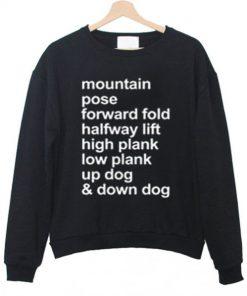 Yoga Style Sweatshirt