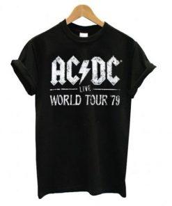 ACDC Live World Tour 79 T-shirt