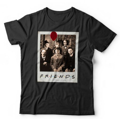 Friends Halloween Meme T-shirt