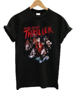 Michael Jackson Zombie Thriller T-shirt