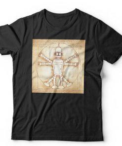 Vitruvian Bender T-shirt