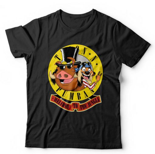 Welcome To The Jungle Timon and Pumba T-shirt