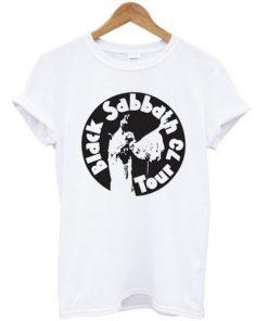Black Sabbath Tour 73 T-shirt