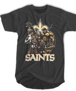 The Avengers new Orleans Saints T-shirt